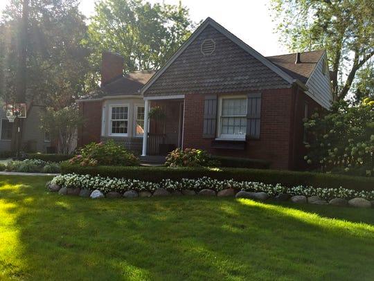 The Tellerico residence.
