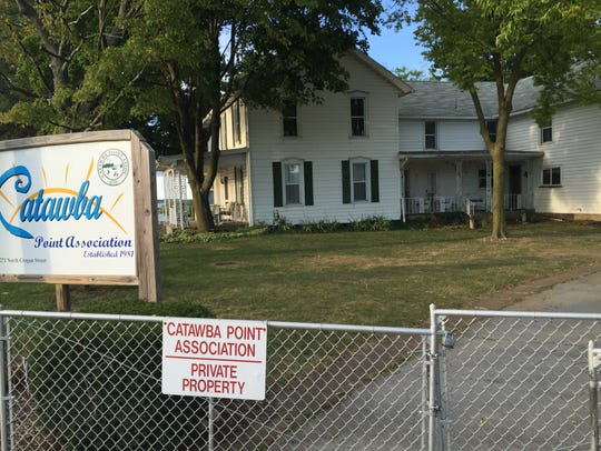 The Catawba Point Association is going to demolish