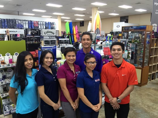 The staff at Goody's Sporting Goods store.