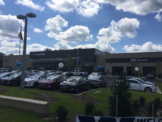 Werner Hyundai Opens Sleek Dealership