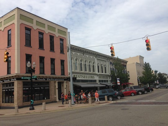 For a few hours in early October this section of Jefferson Street in downtown Mason will be filled with 1960s-era vehicles for the filming of a  yet-untitled drama centering around the 1967 riots in Detroit.