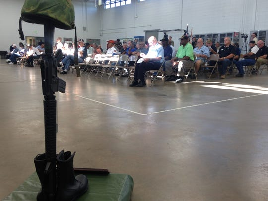 More than 200 Vietnam Veterans and their families gathered in Opelika Thursday to be honored for their service.
