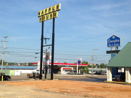 Waffle House is constructing a new restaurant at 2314 N. Highland Ave.