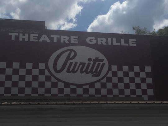 The Purity Dairy sign was refurbished in downtown Smyrna.