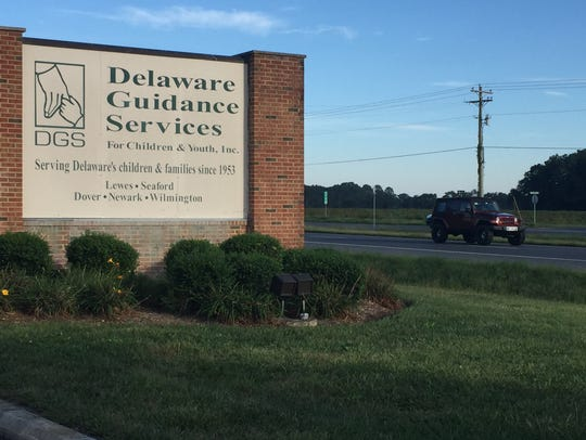 Delaware Guidance Services' Lewes location. The business