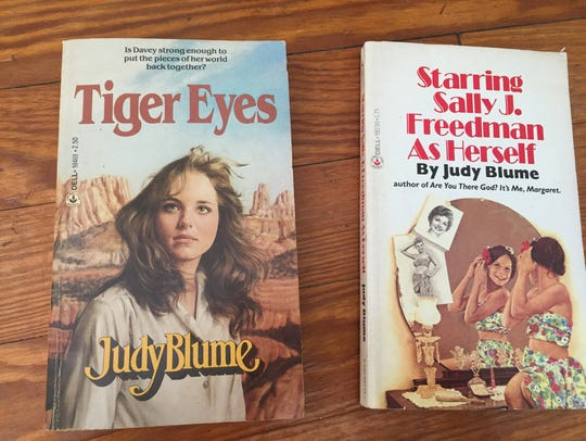 Judy Blume gets ideas from  her own past as well as
