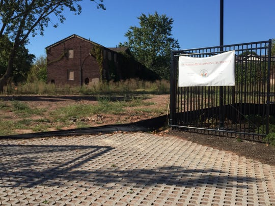 The site of the former Delaney Homes federal housing complex was sold to the Perth Amboy Board of Education for the site of the city's new high school.