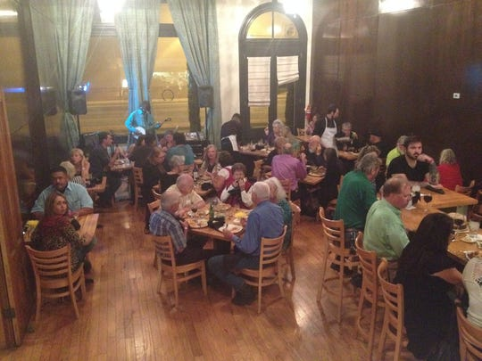 The 2016 Progressive Dinner featured meals at three local restaurants.