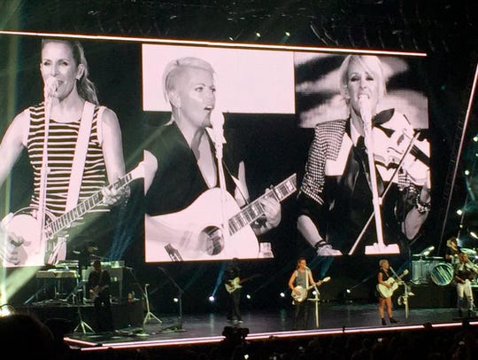 The Dixie Chicks, on their first tour in a decade,