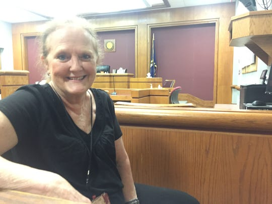 Frances McInnis, a CASA worker, said the family preservation drug court can help families regain custody of their children and their sobriety.