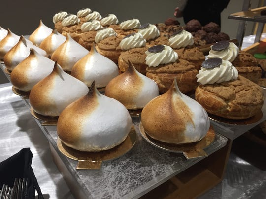 Desserts served as part of the Hudson Valley Restaurant Week kickoff event at The Culinary Institute of America in Hyde Park.