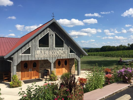 Lakewood Vineyards expanded its facility in 2016.