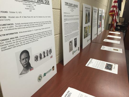 The Pennsylvania State Police announced an intensive multiple cold homicide case investigation effort in conjunction with the University of South Florida.