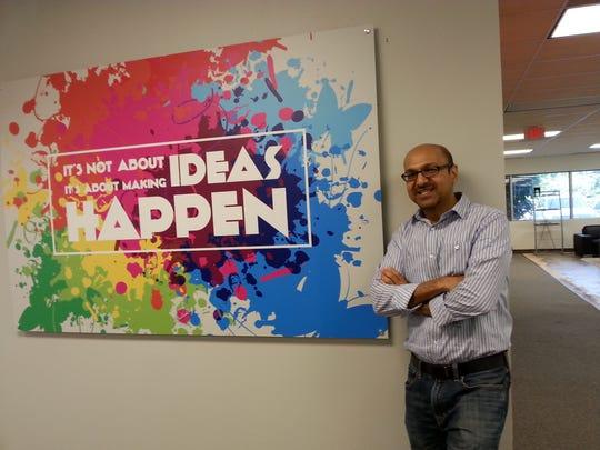 Mukesh Patel, founder of JuiceTank Innovation Labs