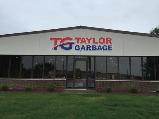 The address for the new Taylor Garbage Service office