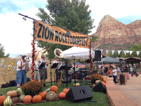 The 2014 Rocktoberfest at the Zion Canyon Village in