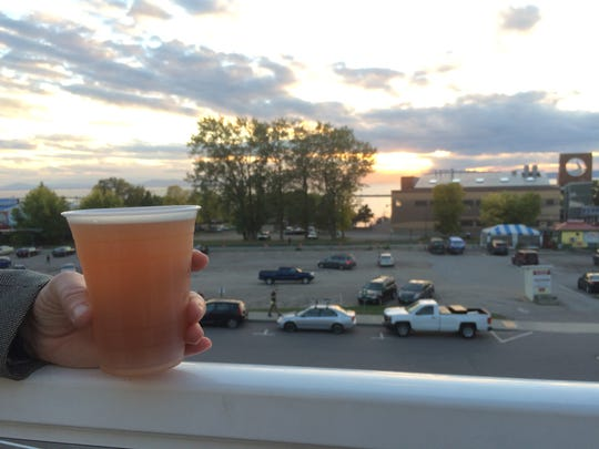 The beer flows and the sunsets descend at Burlington
