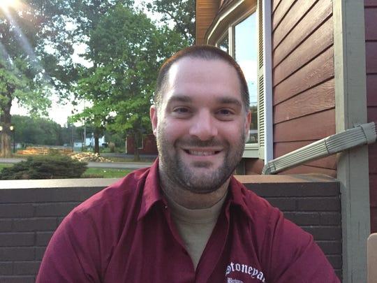 "Jeff ""Oz"" Osborne, head brewer at Brockport's Stoneyard Brewing"