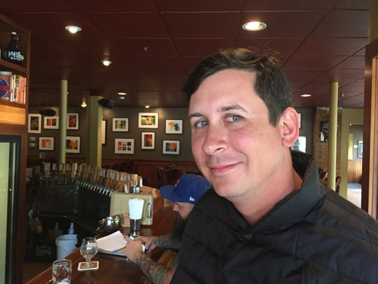 Joe McBane, co-owner of Rochester's Tap and Mallet bar