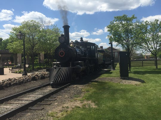 A train at Greenfield Village.