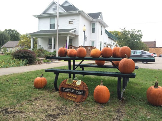 The Ankeny Historical Society holds a pumpkin patch