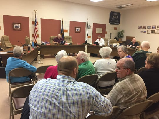 Penn Township residents question why municipal officials decided to remove more than 90 street lights at a September meeting.
