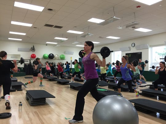 Bodypump is one of many group exercise classes offered at the Greenheck Field House.