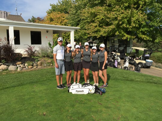 The Plymouth Wildcats finished just three strokes short