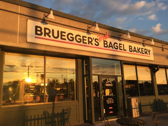 Bruegger's has a holiday gift card promotion.
