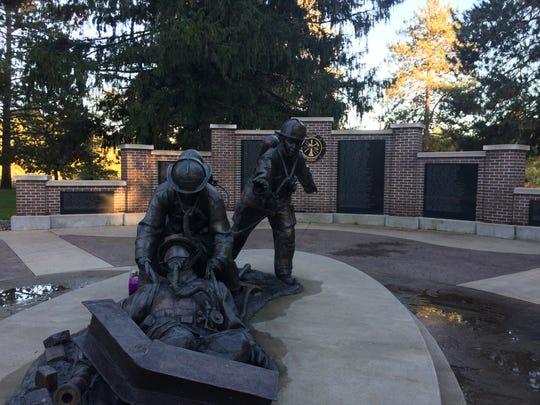 Wisconsin State Firefighters Memorial, Wisconsin Rapids.