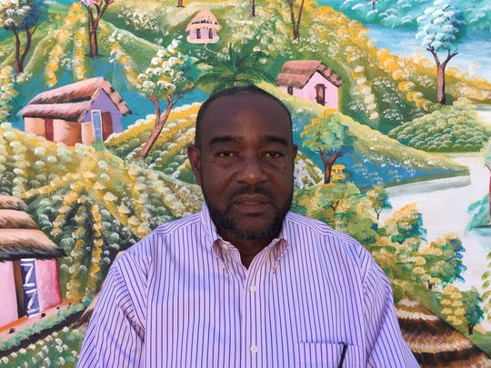 Renold Julien, founder of the Haitian community group