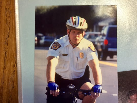 Former Fountain Inn Police Sgt. Rick Pope helped start a bicycle patrol.