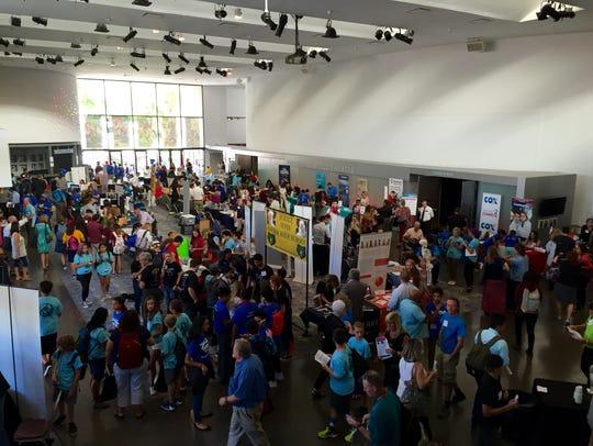About 1,000 people and 80 exhibitors enjoyed the Arizona