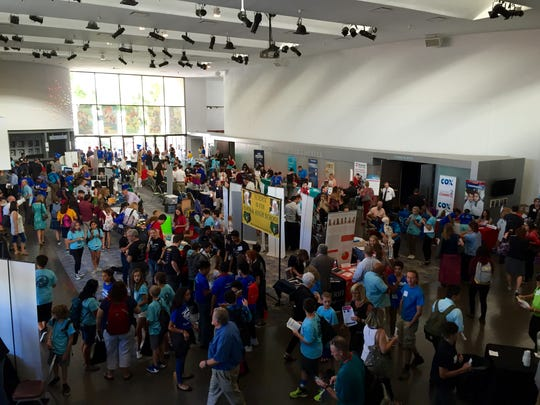 About 1,000 people and 80 exhibitors enjoyed the Arizona SciTech Festival Kickoff Conference.