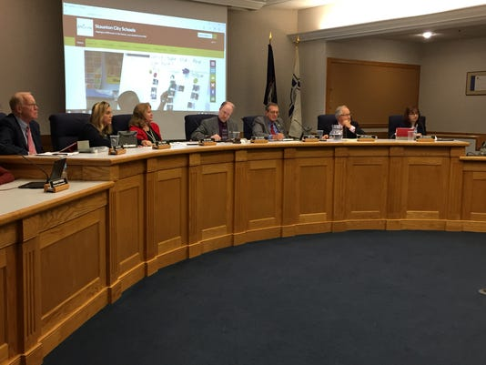 Staunton School Board meeting