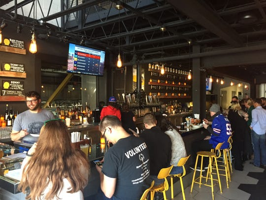 The new Thin Man Brewery in Buffalo's Elmwood Village