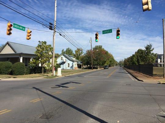 As the Highland Avenue corridor develops, traffic on