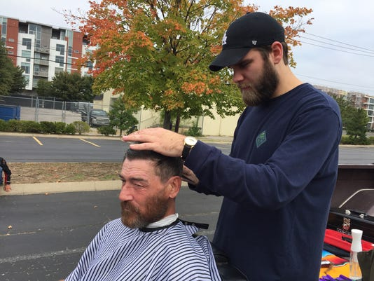 Scouts Republican Hair Give Free Haircuts To Homeless