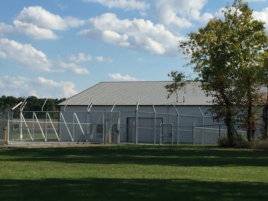 The nearly 20,000-square-foot animal holding facility in Reynoldsburg where the Department of Agriculture temporarily keeps seized or forfeited exotic animals. The building was built after Terry Thompson of Zanesville released his exotic animals, including lions, tigers, bears and wolves, in October, 2011 before committing suicide.