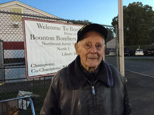 Stephen Bolcar, 99, was one of about 40 Boonton High