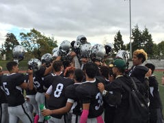 Barrios leads North County football to win