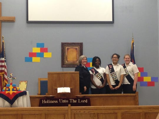 The Jackson chapter of the Salvation Army presented