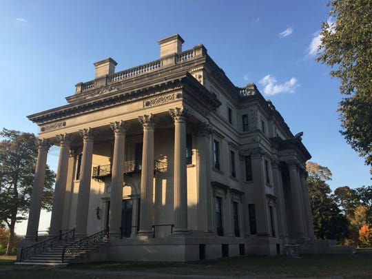 The Vanderbilt Mansion National Historic Site in Hyde Park.