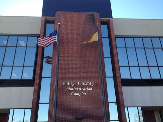 The Eddy County Administrative Complex on Greene Street in Carlsbad, N.M.