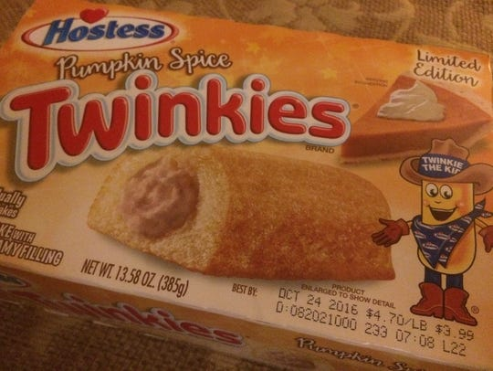 Pumpkin Spice Twinkies