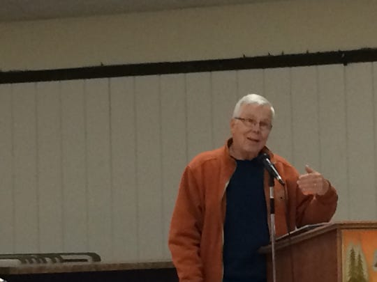 Rome resident Rick Antin said Oct. 13 that he is concerned