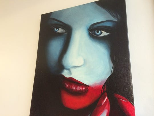 """The Lila Rees work """"Bathory"""" is part of """"The Art of"""
