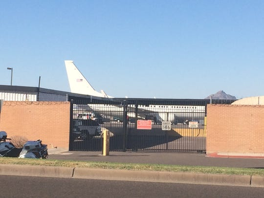 First lady Michelle Obama's plane.