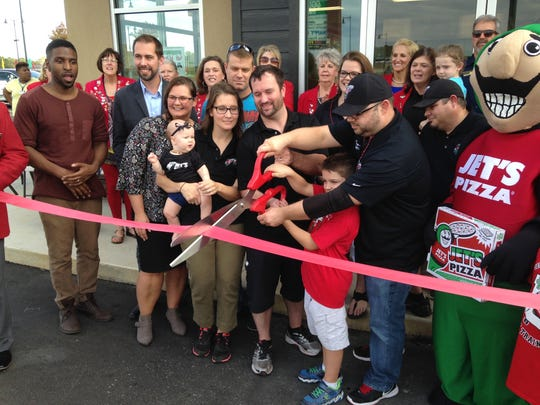 Jet's Pizza has opened its second location in Jackson, at 9 Chloe Place.