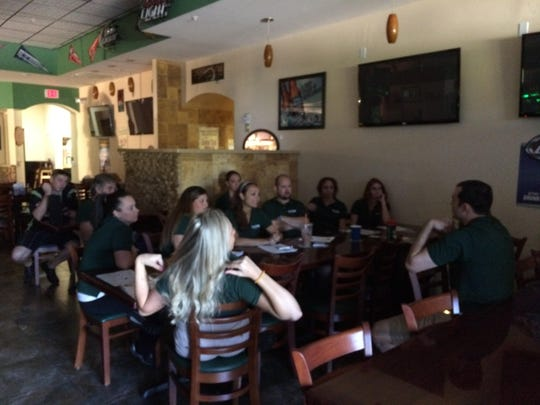 Tail-Gators Brews and Grill, Port St. Lucie, hosts What's on TAP training.
